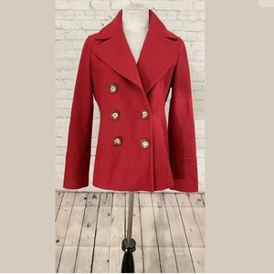 Michael Kors Double Breasted Pea Coat S